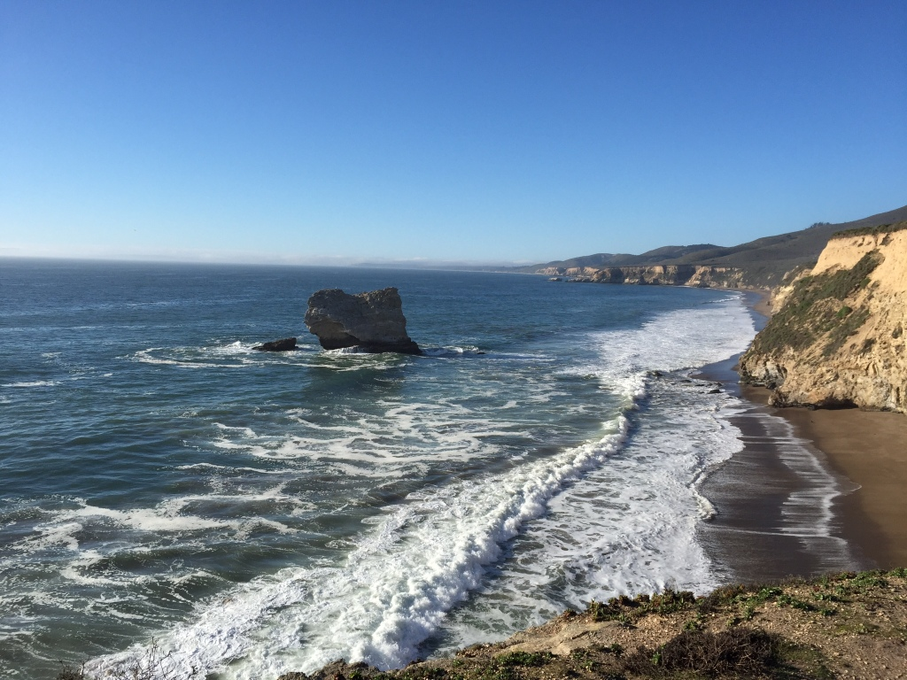 View of the Pacific from near Arch Rock